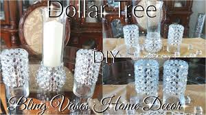 bling home decor diy dollar tree bling vases and candle holder decor petalisbless