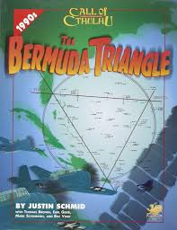Bermuda Triangle Map The Bermuda Triangle Call Of Cthulhu Horror Roleplaying 1990s