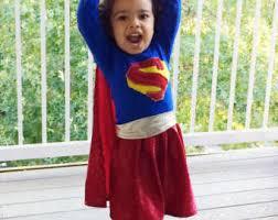 Supergirl Halloween Costumes Supergirl Costume Etsy