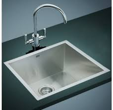 Kitchen Laundry Sink Hand Made Deep Single Bowl Mm X Mm Sq - Deep stainless steel kitchen sinks