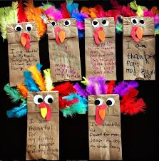 paper bag turkey puppets thanskgiving craft puppet