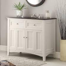 White Wooden Bathroom Furniture Bathroom Design Bathroom Cabinets Cool Granite Contertop White