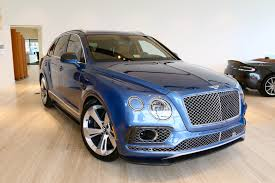 bentley bentayga silver 2017 bentley bentayga w12 signature stock 7nc015473 for sale