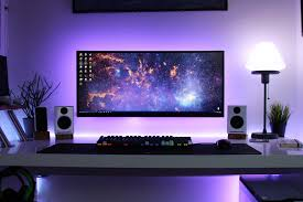best desk setup desk setup tour 2016 youtube