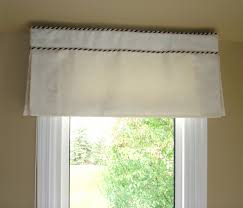 what do you do when there is no room above the window to hang a