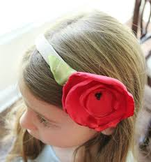 big flower headbands satin flower headbands less than of bliss home