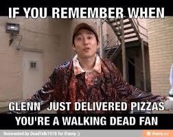 Glenn Walking Dead Meme - the walking dead memes glenn and pizza wattpad