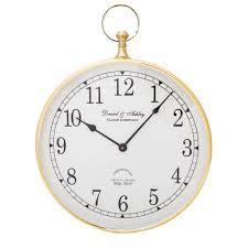 Masonic Home Decor Daniel And Ashley Wall Clock Gold Small Home Decor Interiors
