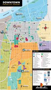 Downtown Las Vegas Map by Kansas City Maps Missouri U S Maps Of Kansas City