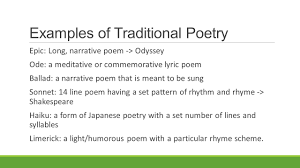 day 54 foundations u2013 poetic form and participle phrases ppt download