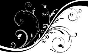 Cute Black And White Wallpapers by Vector Flower Black In White Hdw Wallpapers