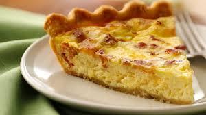 cuisine quiche bacon and cheese quiche recipe pillsbury com