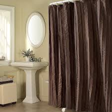 Shower Curtains Black Fabric Shower Curtain Liner Gray Brown Wooden Storage Transparent