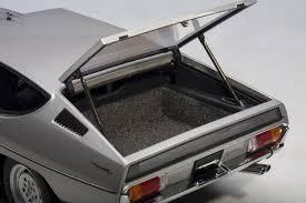 silver lamborghini amazon com lamborghini espada silver 1 18 diecast car model