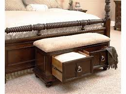 Cushioned Storage Bench Bench Exceptional Storage Bench Forom Photo Inspirations White