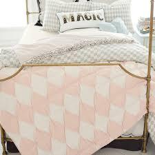 Harlequin Duvet Covers The Emily U0026 Meritt Harlequin Pintuck Quilt Sham Pbteen