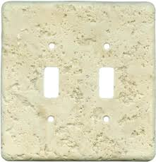 travertine light switch plates stone outlet cover idearama co