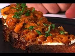 thanksgiving recipes squash on toast bittman