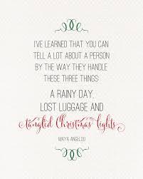 christmas lights maya angelou quote landeelu com