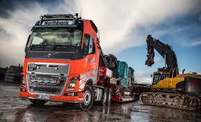 volvo company fh16 is first heavy haulage volvo for northbank demolition company