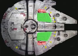 Millennium Falcon Floor Plan by Bandai U0027s 1 72 Millennium Falcon Model Kit Millennium Falcon Notes