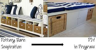 Ikea Kallax Bench by Sewpetitegal Home Diys Reupholstering U0026 Inspired Bench