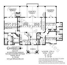 country cottage plans high country cottage house plan house plans by garrell