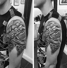 50 celtic dragon tattoo designs for men knot ink ideas