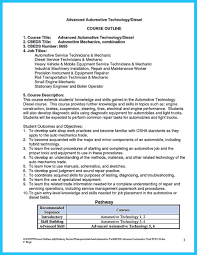 entry level mechanic resume sample cover letter for auto