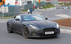 aston martin blacked out aston martin db11 s spied looking fierce autoguide com news