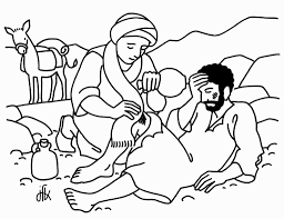 good samaritan coloring page coloring pages pinterest bible