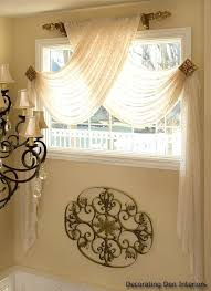 Swag Valances For Windows Designs Swag Bedroom Curtains Attractive Swag Sheer Curtains Designs With