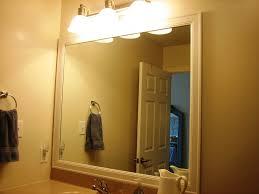 how to diy framing bathroom mirror inspiration home designs