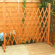 expanding fence garden screen trellis style expands to 6 u00272