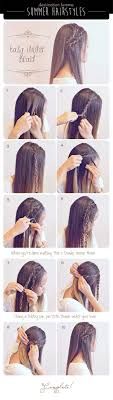 hair braiding styles step by step 40 of the best cute hair braiding tutorials diy projects for teens