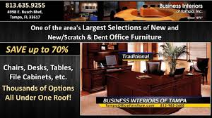 Scratch And Dent Office Furniture by Business Interiors Of Tampa Youtube