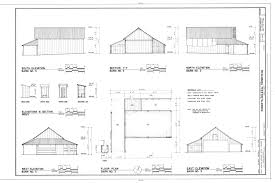 file elevations section and floor plan of barn no 3 roberts