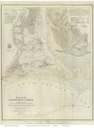 Connecticut New York Map by Old Maps Of The Usa Uscs Nautical Charts Connecticut New York