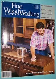 description fine woodworking magazine april 1993 used very