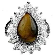 cluster rings brown jewellery halo cluster ring teardrop costume rings