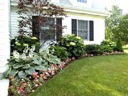 front yard designs for simple ranch house garden ideas for front