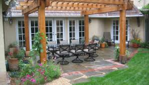 Backyard Concrete Slab Stained Concrete Patio Floors For Backyard Patio Floor Decoration