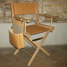 Director Style Chairs Accessories Delightful Wooden Soft Brown Director Chair Frame And
