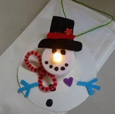 votive snowman ornaments choices for children