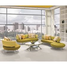 Yellow Leather Sofa by Yellow Leather Sofa Set Radiovannes Com
