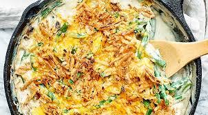 green bean casserole recipe w bacon fried onions