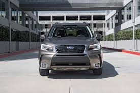 subaru forester touring 2016 2017 subaru forester 2 0xt touring first test motor reviews