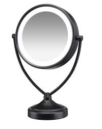 Cordless Lighted Makeup Mirror Ideas Attractive Conair Makeup Mirror For Makeup Room Design With