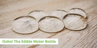 the edible ooho the edible water bottle ecoshopr