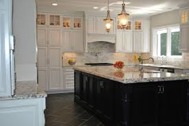 contrast kitchen island dark wood with white osborne wood videos